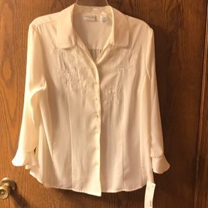 New Covington Embroidered Blouse